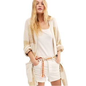 NWT Free People Oversized Southport Beach Cardigan